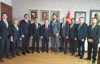 TSİAD, üyelerinin sorunlarını yetkililerle paylaştı