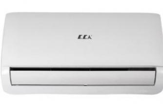 Evde ideal sıcaklığı E.C.A. klima ile sağlayın