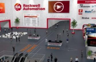 Rockwell'in sanal fuarında, katılımcılar inovasyonları deneyimledi