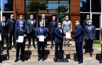 """Gaziantep OSB'ye """"Güvenli Hizmet Belgesi"""" verildi"""