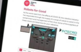 invitRO, pandemiyle mücadele eden robotik projeler arasında