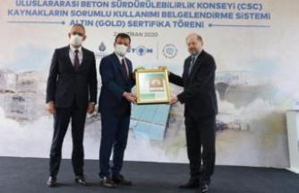 İSTON Hadımköy Fabrikası'na CSC sürdürülebilirlik belgesi