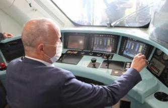 Türk-İş Başkanı Atalay, Milli Elektrikli Tren Seti'ni gezdi
