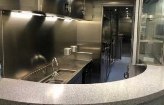 Türkiye'nin ilk yerli hızlı treninin mutfak setleri Öztiryakiler'e emanet