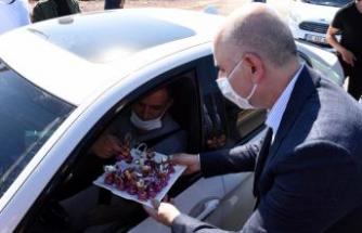 Ulaştırma ve Altyapı Bakanı Adil Karaismailoğlu, Kırıkkale'de nakliyecilerle buluştu