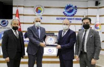 KAYSERİ'DEN GEÇEN YIL ÖZBEKİSTAN'A 15 MİLYON DOLARLIK İHRACAT YAPILDI