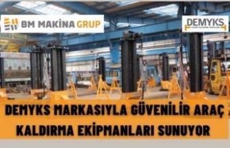 DEMYKS MARKASIYLA GÜVENİLİR ARAÇ KALDIRMA EKİPMANLARI SUNUYOR