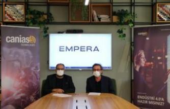 EMPERA HALI, İŞ SÜREÇLERİNİ CANİAS4.0 İLE YÖNETECEK