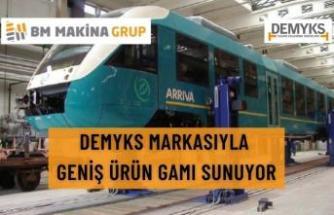 DEMYKS MARKASIYLA GENİŞ ÜRÜN GAMI SUNUYOR