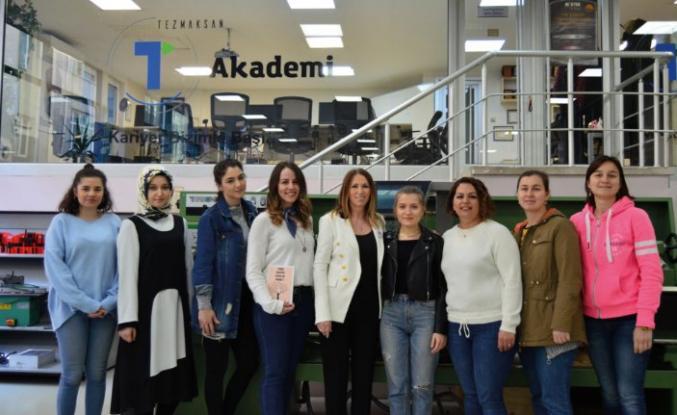 Dünya Kadınlar Günü'nde kadınlara ücretsiz CNC eğitimi verecek