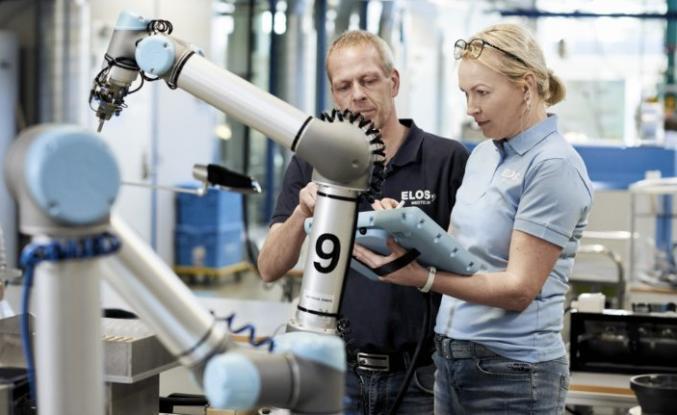 Cobot'larla sektörde kesintisiz iş gücü ve esnek üretim imkanı