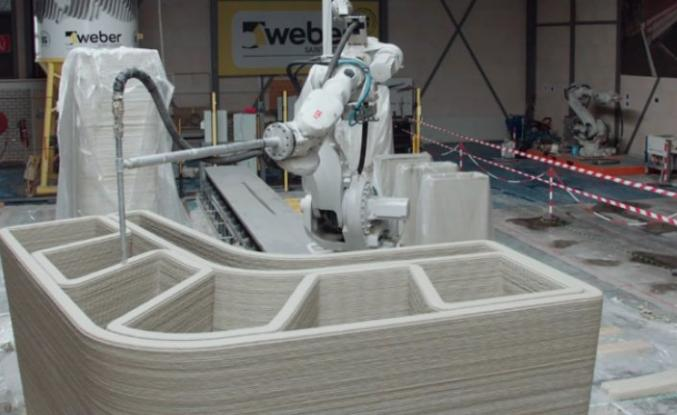 ROBOTLARLA YAPILAN İLK 3D BASKILI EV GÖRÜCÜYE ÇIKTI