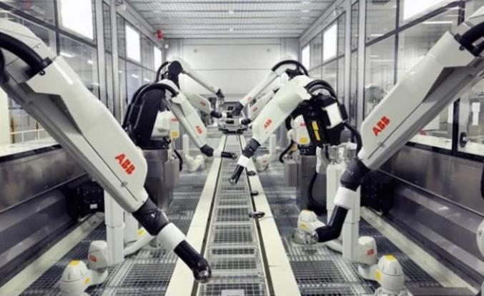 """ABB'NİN """"ROBOT YAPAN ROBOT"""" FABRİKASI 2022'DE ÜRETİME GEÇECEK"""