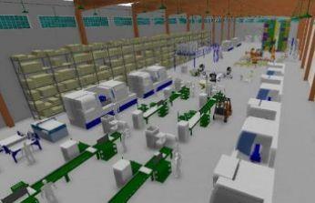 Daha verimli fabrikalar için üretim simülasyonu