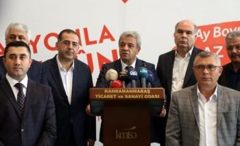 Kahramanmaraş'ta iş adamlarından enflasyonla mücadeleye destek