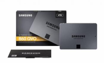 Samsung 860 QVO SSD 4 TB hızıyla baş döndürüyor