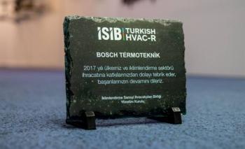 BoschTermoteknik iki ayrı ödülle başarısını taçlandırdı
