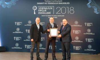Polin, Verimlilik Proje Ödülü'nün sahibi oldu