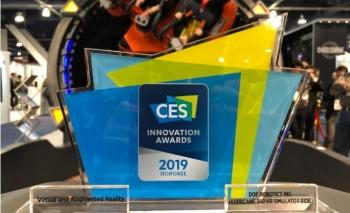 DOF Robotics, CES 2019'da ödülüne kavuştu