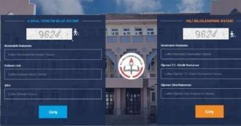 E-okul giriş veli bilgilendirme sistemi