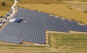İlk güneş enerji santralini KKTC'de kurdu