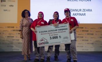 2. Ulusal Çatıcılar Yarışması'na sponsor oldu