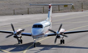 Havadan Fotoğraf Çekim Uçağı uçuşa hazır