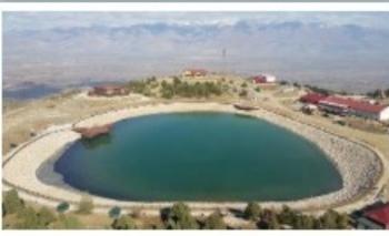 Ergan Dağı'nda Kar Göletine imza attı
