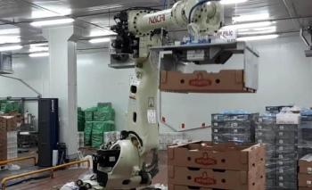 İlk kez 0 derece ortama uygun, 5 robotlu hat kurdu