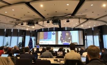 Avrupa Komisyonu'nda yapay zeka ve robotik sunumu yaptı