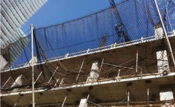 İnşaat ve yapı güvenlik ağları ile iş kazalarını önlüyor