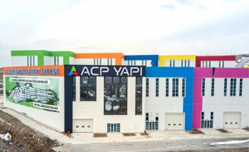 ACP Yapı Elemanları yeni fabrikasına taşındı