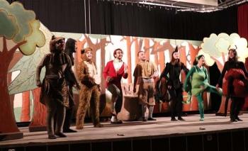 Bosch Çevre Çocuk Tiyatrosu Denizlili çocuklarla bir araya geldi
