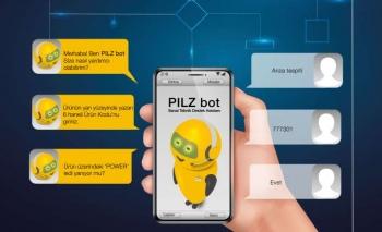 """Hızlı destek isteyenlere: """"PILZ bot"""""""