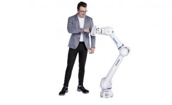 """Hibrit robotu HC10DT IP67 ile tasarımın """"Oscar""""ını kazandı"""