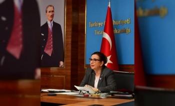 Bakan Pekcan, Türkiye-Avrupa iş konseyleri başkanlarıyla bir araya geldi