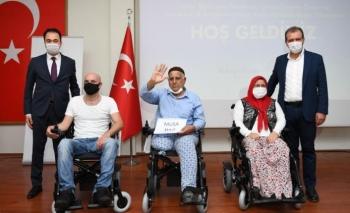 Çimsa engellilere umut olmaya devam ediyor