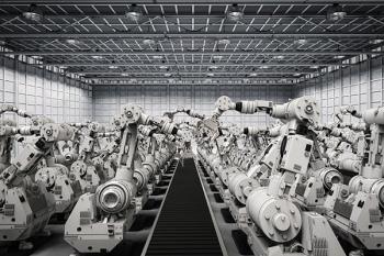 Robot Yoğunluğu Yükseliyor