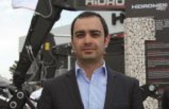 Hidromek YKB Yrd. Ahmet Bozkurt'un iş gündemi...