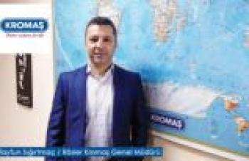 Rösler Kromaş Genel Müdürü Tayfun Sığırtmaç'ın iş gündemi…