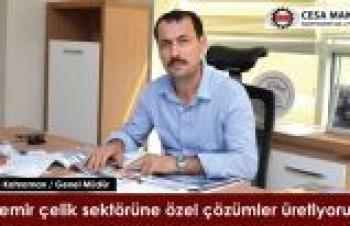 Steel Balls / Cesa Makina YKB Saim Kahraman'ın iş gündemi...
