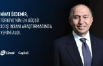 Limak Holding Yönetim Kurulu Başkanı Nihat Özdemir'in iş gündemi...