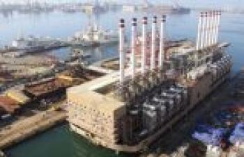 Lübnan'ın elektriği 3 Türk gemisinden