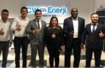 CW Enerji, Gana'yla el sıkıştı