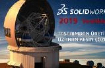SOLIDWORKS 2019'u pazara sundu