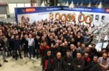 Bosch Termoteknik 2018'de 888.888 kombi üretti