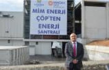 Mimsan'dan Malatya'ya 18 MW'lık Çöp Santrali