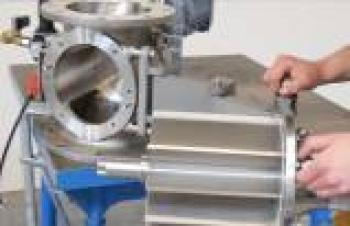 Hijyenik prosesler için hızlı sökülebilir rotary vanalar