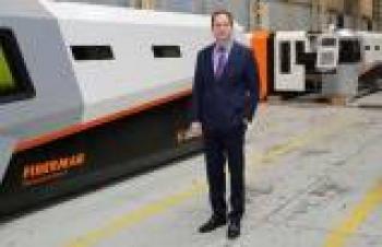 Dünyanın bir ucuna 10 tonluk makina gönderen Ermaksan'dan bir ilk