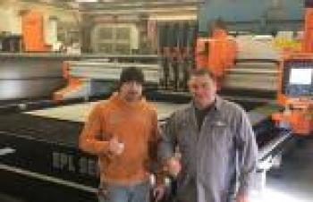 Ermaksan, Pennsylvania'da plazma kesme makinası kurdu